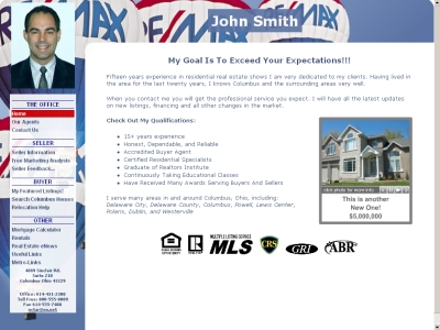 Real Estate Web Site - Print Listing Flyers